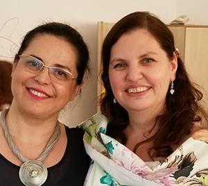 Gina Mocanu-Apostu & and Daniela Marinescu-Romania 2018